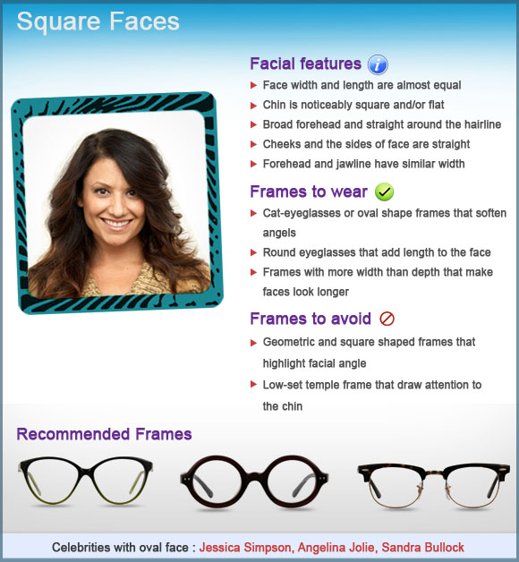 Face shape guide –how to choose farmes for you – COCO LENI Blog
