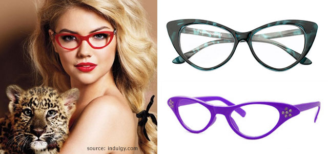 1a5e9fd00fdf If you're looking for a subtle pair of glasses, this dashing, flirtatious  look is not for you. These cat-eye glasses are the definition of female  sass, ...