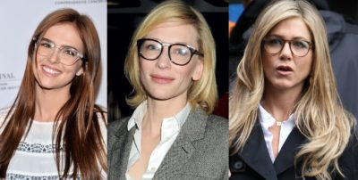 Celebrities & Actress wearing Glasses - Global Eyeglasses.