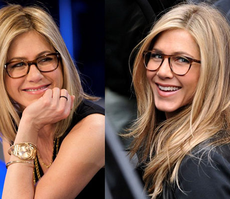 Jennifer Aniston glasses - celebrity glasses - Global Eyeglasses