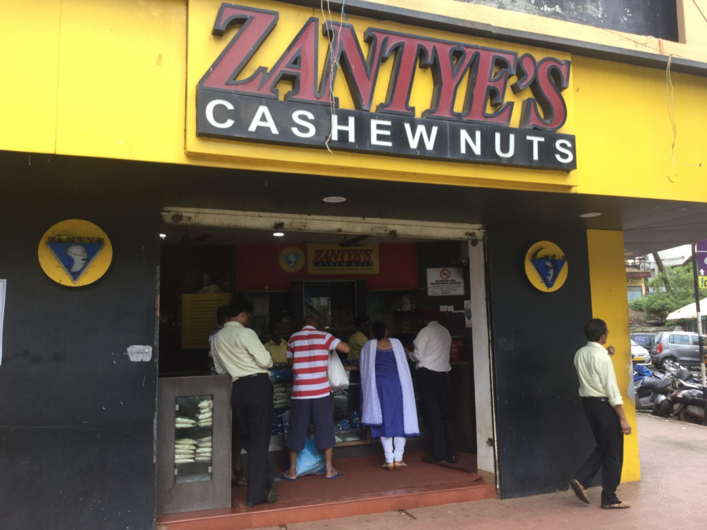 stores in panjim - thrift stores in panjim - designer stores in panjim - boutiques in panjim - goa shopping - shopping in panjim - stores in goa - shops in goa - shops in panjim - cocoleni - cocoleni goa - goa nuts - zanteys panjim - zanteys goa - food store in panjim - cashew nuts goa - cashew nut stores panjim