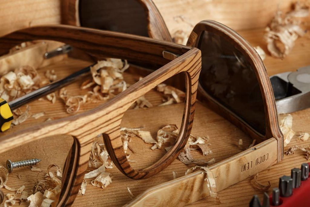 wooden frames - benefit of wooden eyeglass frames - cocoleni wooden frames - custom wooden frames - best wooden frames goa - eyeglass stores in goa