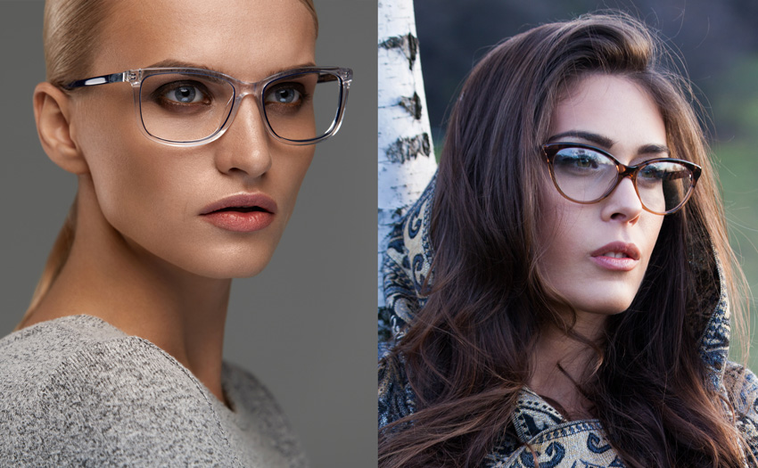 Rounded Lens Cat-eye Eyeglasses