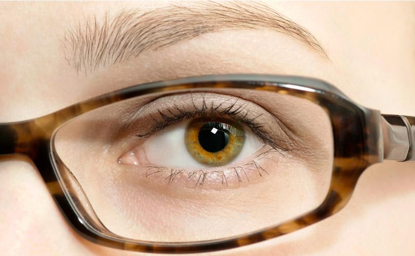 Eyebrows frame your eyeglasses