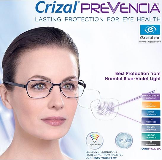 ESSILOR CRIZAL Prevencia® Lenses