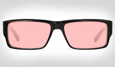 Rose/Pink Tinted Glasses