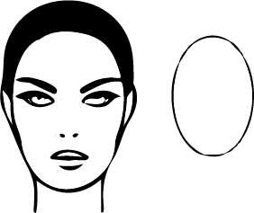 Oval Face Shape