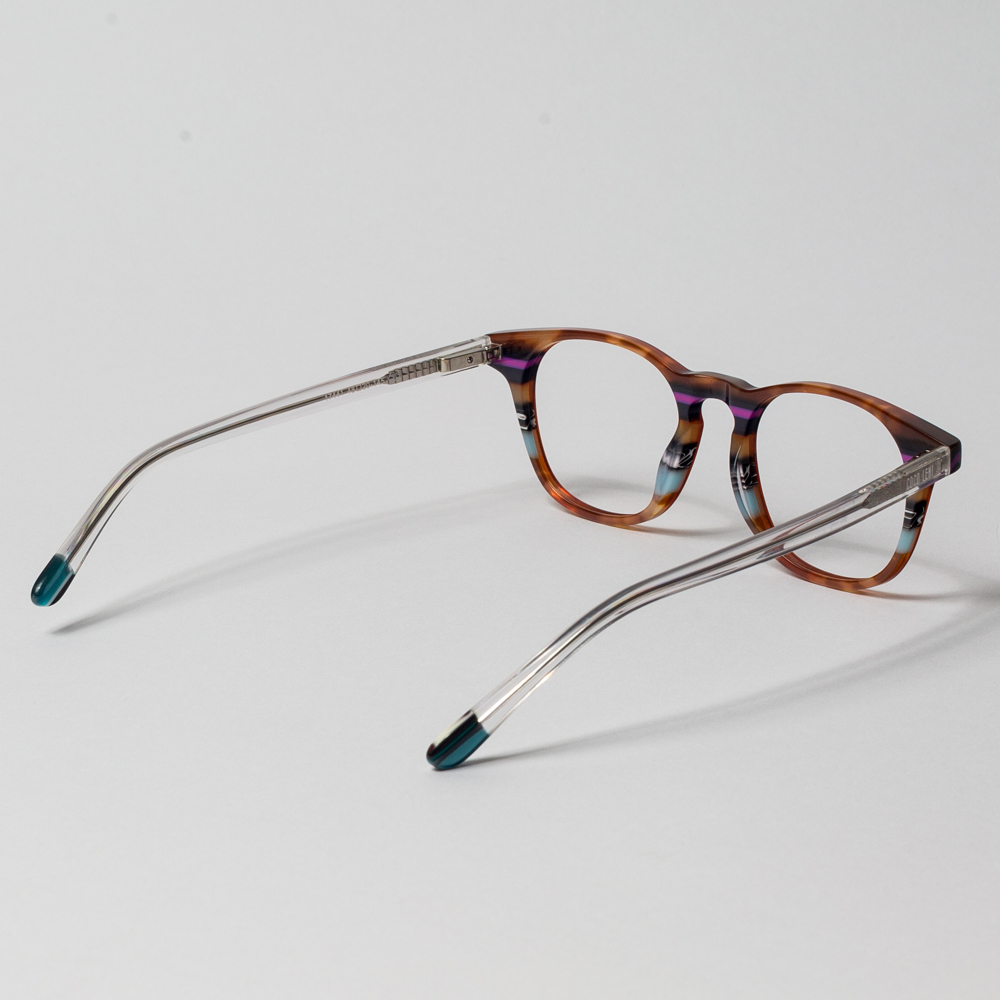 Shungnak Transparent Red Black Tortoise Shell