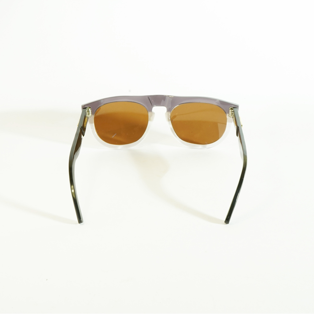 Dieter Black Transparent Gray
