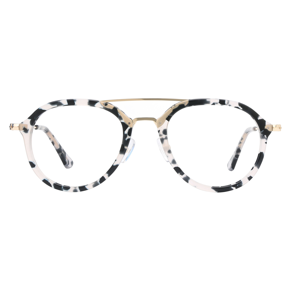 Zuri Tortoise Shell Black White