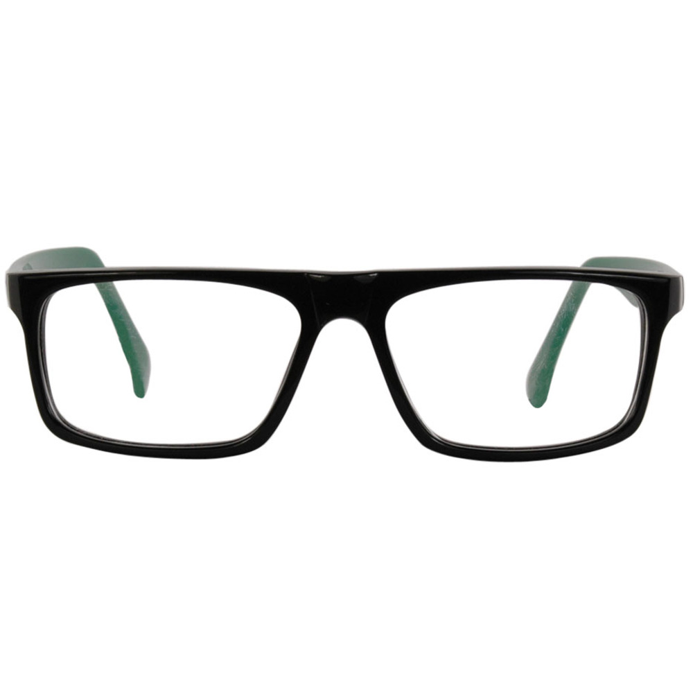 Francisco- Black & Green 56mm Black