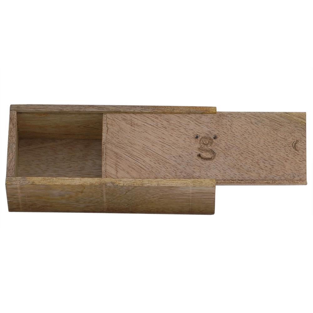 Wooden Box Brown