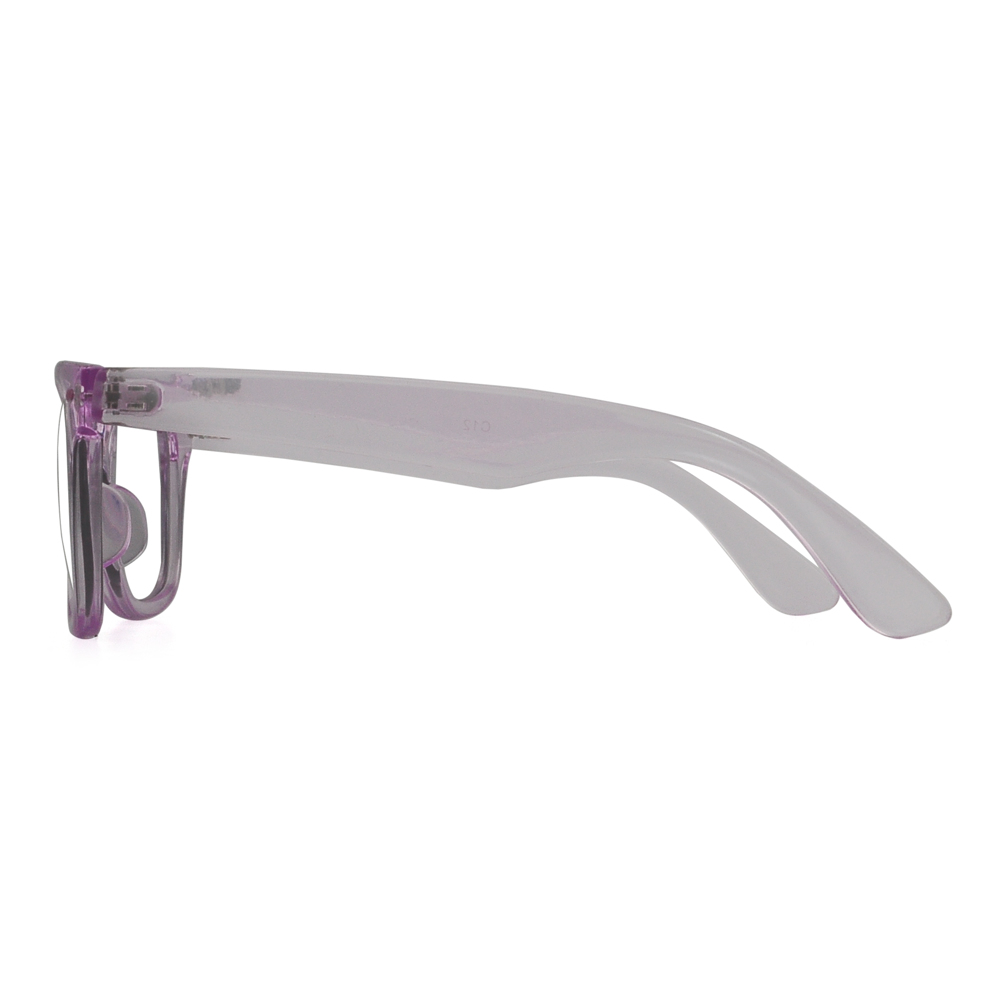 Tyron Purple Transparent